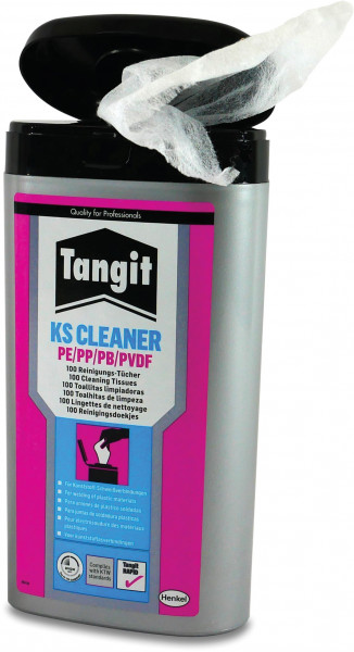 Tangit Cleaning wipes for PE/PP/PVDF, type KS