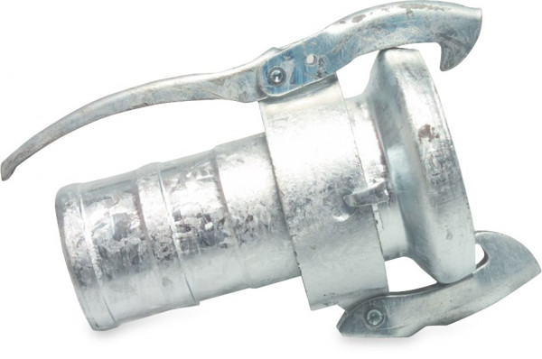 Female part with hose tail, heavy model